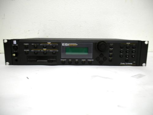 E-MU Systems ESI-4000 Professional Digital Sampler