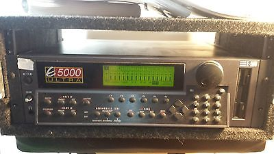 E-MU Ultra 5000 with road case manuals and system disks