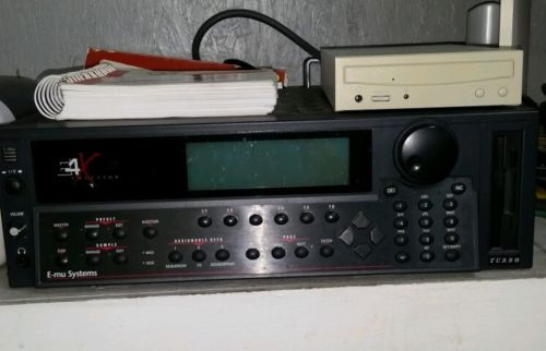 Emu E4X Turbo Sampler with CD ROM and entire sound library.