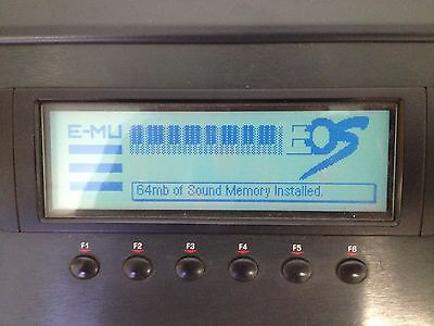 E-mu E4K 76 key sampler 128 voice nice condition FREE SHIPPING