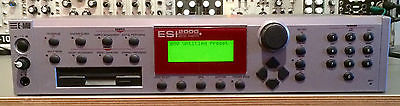 EMU ESI 2000 Digital Sampler rackmount Audio Synthesis NOS w/ original box