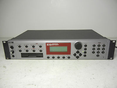EMU SYSTEMS ESI 2000 64 VOICE DIGITAL SAMPLER E-MU ESI-2000 MODEL 6230 LQQK!